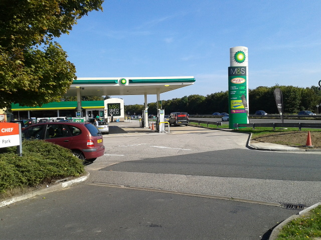 M&S services on the A14