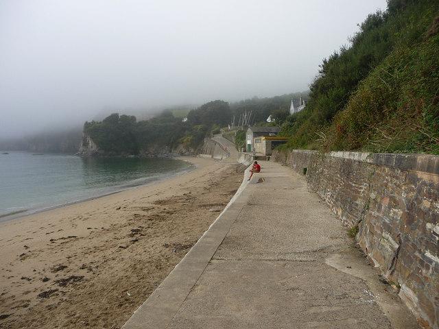 Beach at Porthpean