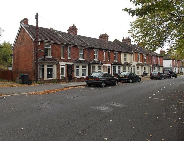 St Paul's Road houses, Salisbury