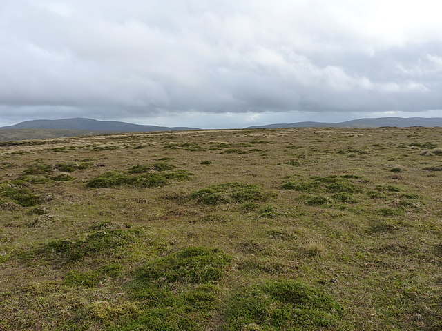 The summit area of the southern spur of Leathad an Taobhain