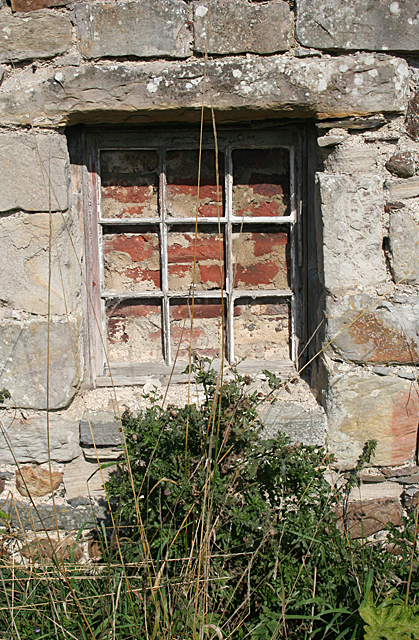 Old Window at Cockmuir