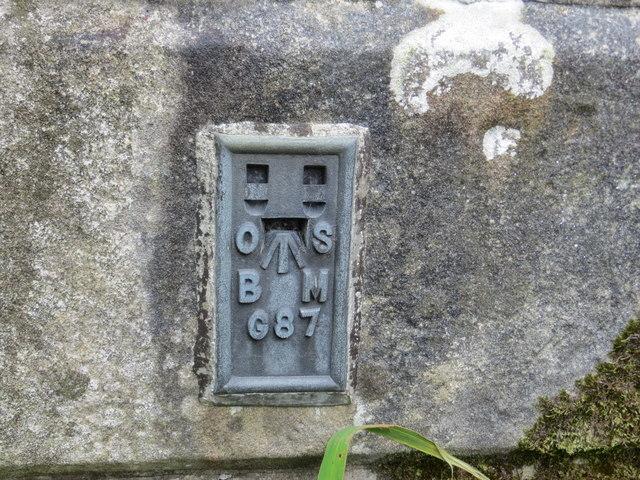 Ordnance Survey Flush Bracket G87