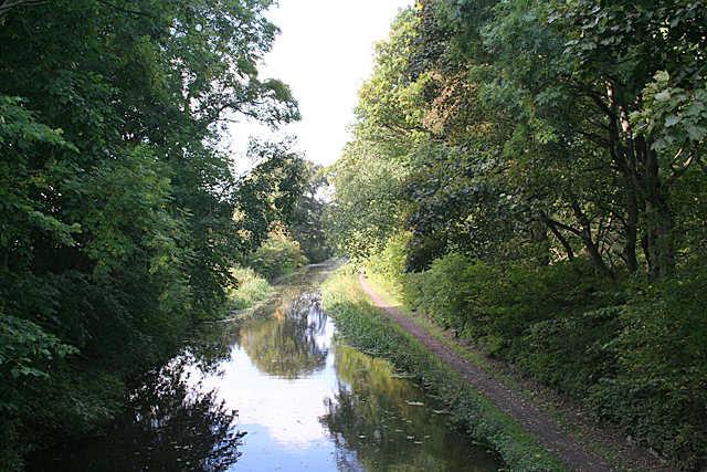 Union canal near Fawnspark