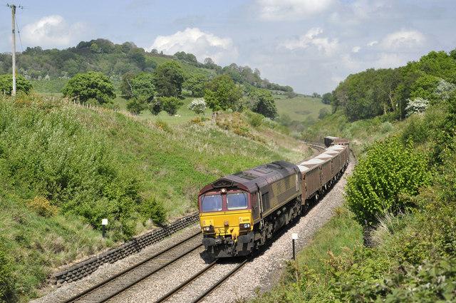 Railway at Penyclawdd