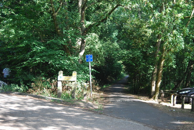 Entrance to Jubilee Country Park