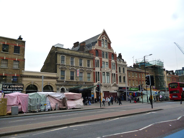 Whitechapel:  entrance to station