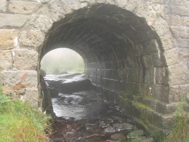 Bridge under the Ringinglow Road