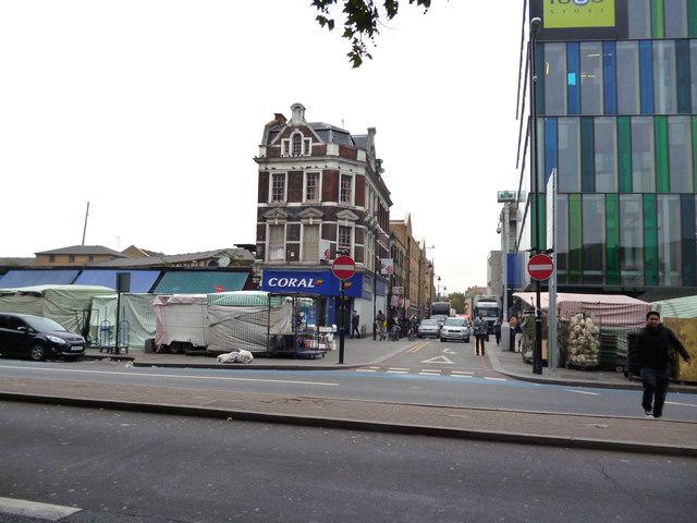 Whitechapel:  Brady Street