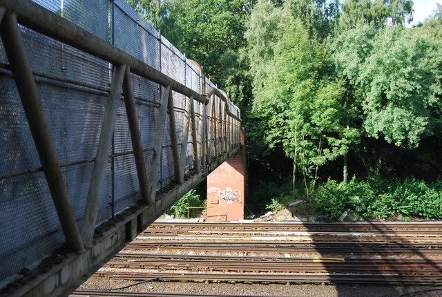 Footbridge over Chislehurst Junction