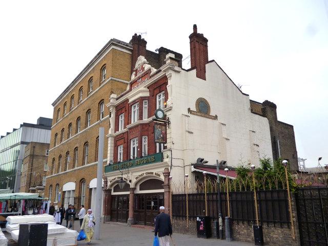 Whitechapel:  The 'Blind Beggar'