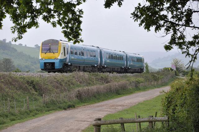 Railway near Llancillo Court