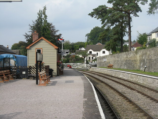 Parkend Station on the Dean Forest Railway