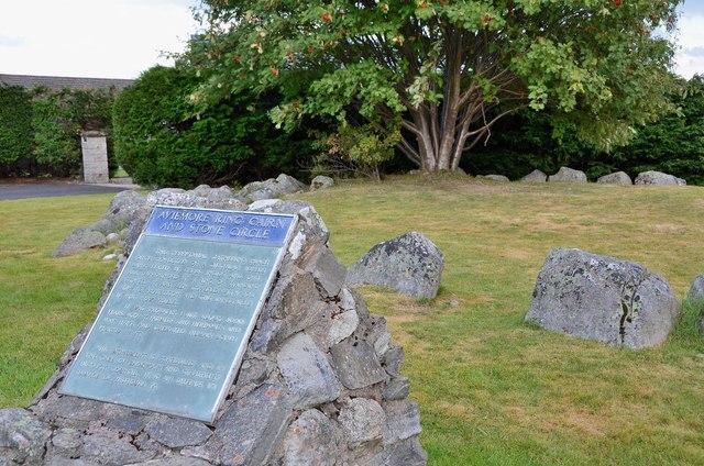 Stone circle, Aviemore