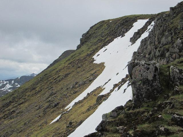 Aonach an Nid ridge