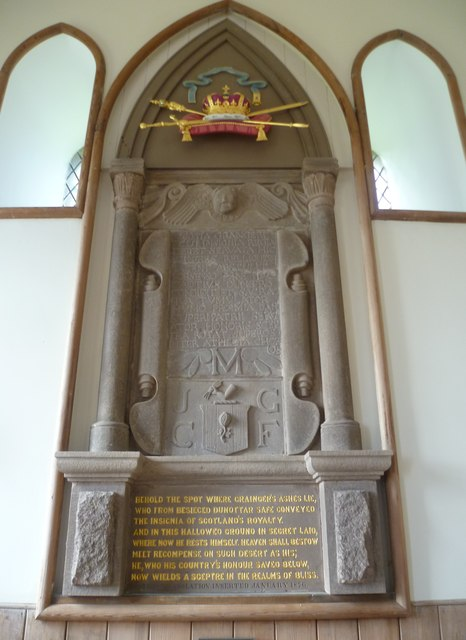 Rev. Grainger Monument, Kinneff Old Kirk
