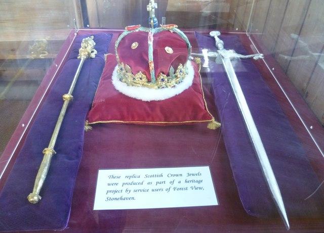 Honours of Scotland replicas