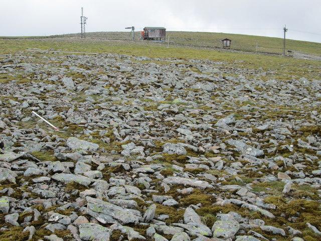 Aonach Mòr summit plateau