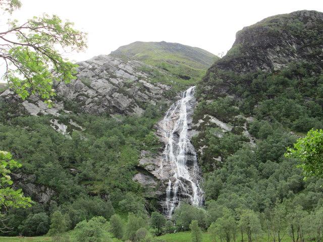 Nevis Falls from Glen Nevis
