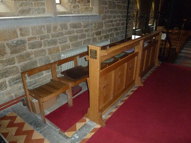 Holy Trinity New Church, Bothenhampton: choir stalls