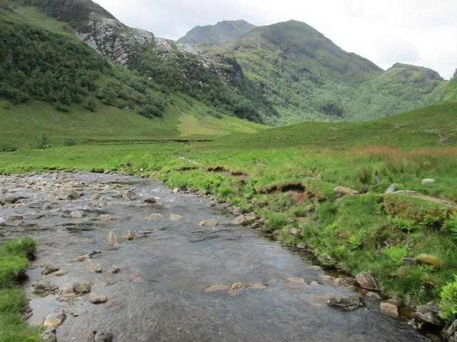 River in Glen Nevis from the footbridge