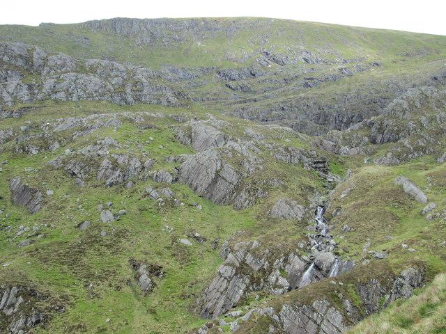 Wild corrie below Aonach Beag