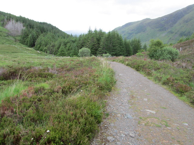 On the Cow Hill circuit above Glen Nevis