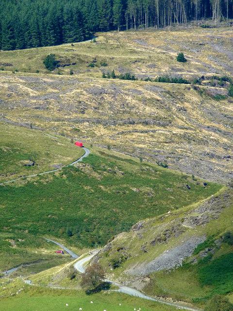 Cwm Tywi near Nant-ystalwyn, Ceredigion