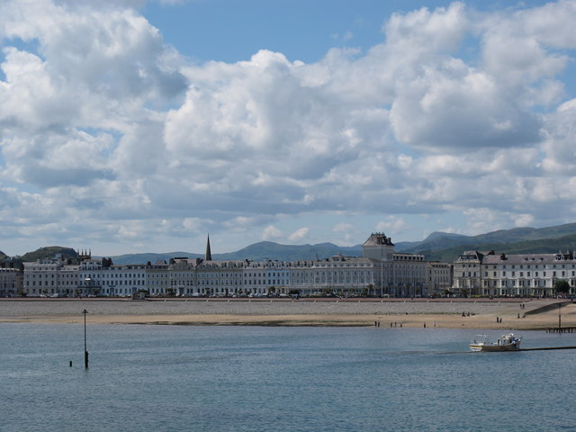 View toward the Promenade from Llandudno Pier
