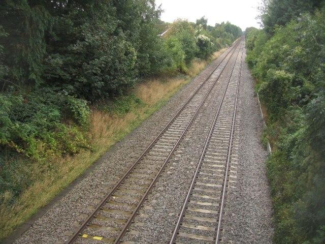 Main line towards Andover/Salisbury