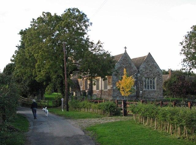 The lane near Brooke church