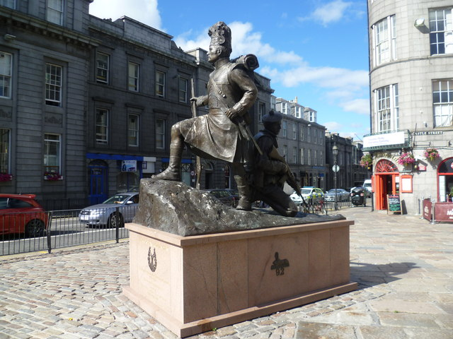 Gordon Highlanders Monument, Castlegate