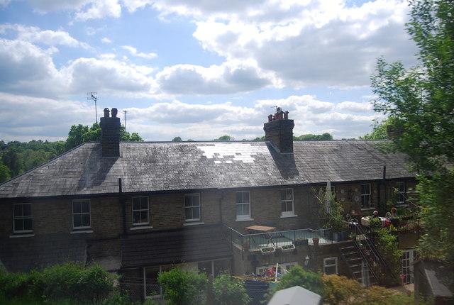 Terrace of houses near Greenman Farm