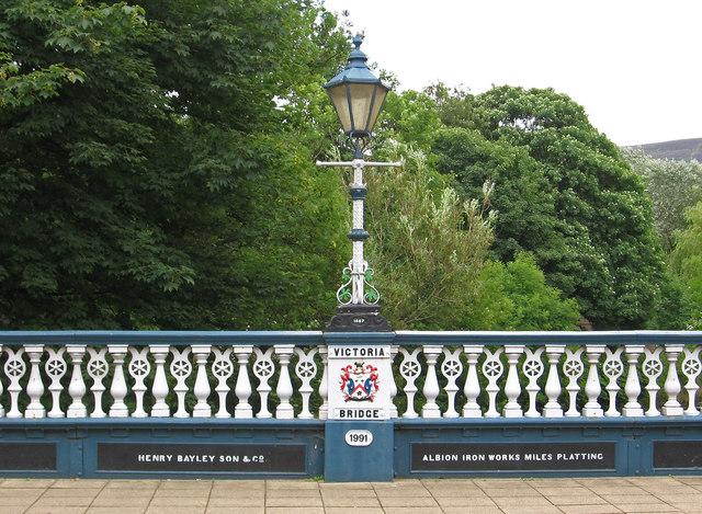 Stalybridge - Victoria Bridge balustrade