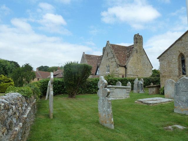St Mary, Walditch: churchyard (a)