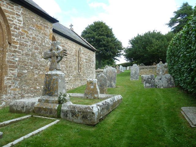 St Mary, Walditch: churchyard (c)