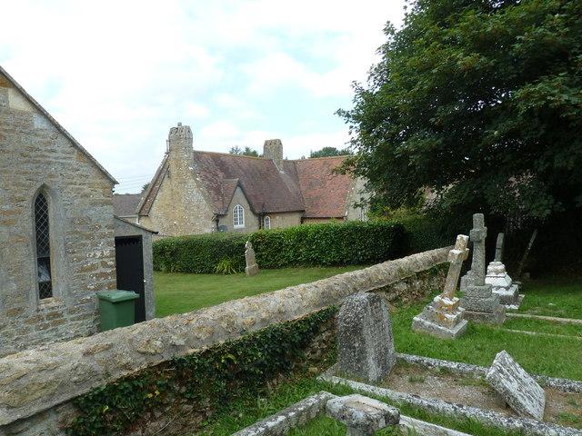 St Mary, Walditch: churchyard (d)