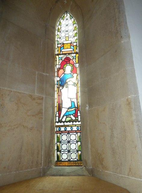 St Mary, Walditch: stained glass window (i)