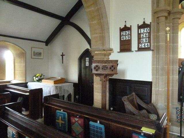 Inside St Mary, Walditch (B)
