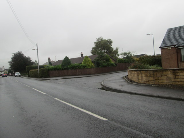 The B7016 in Carnwath
