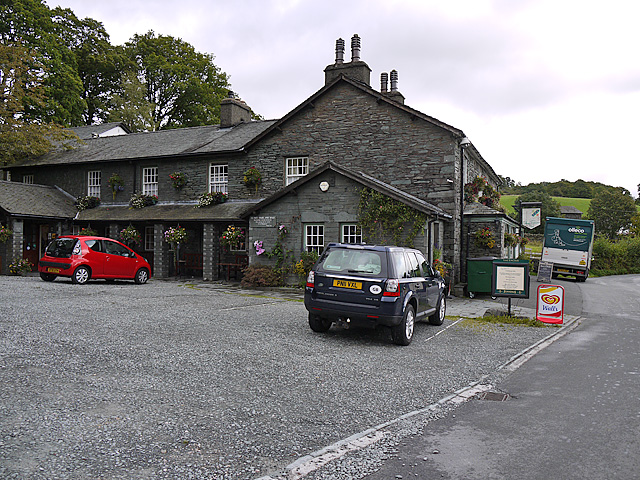 Three Counties Inn, Little Langdale