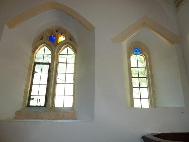 Inside Chilcombe Church (i)