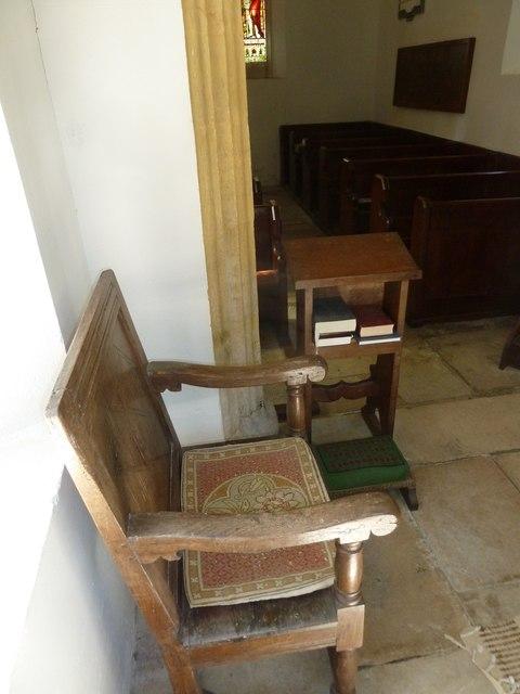 Inside Chilcombe Church (ii)