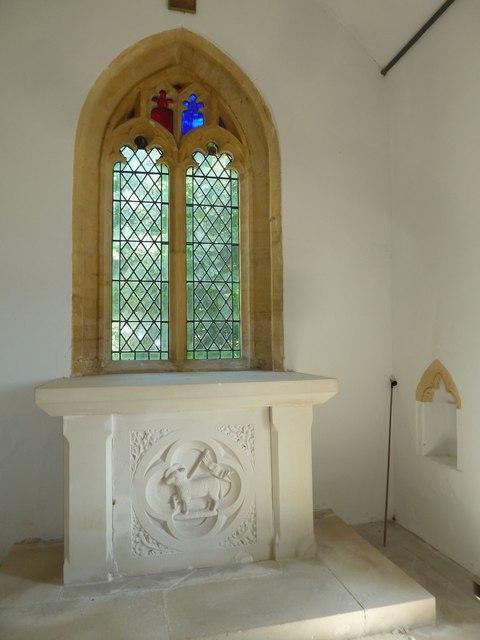 Inside Chilcombe Church (iii)