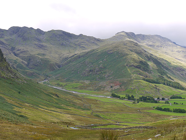 View towards Bowfell