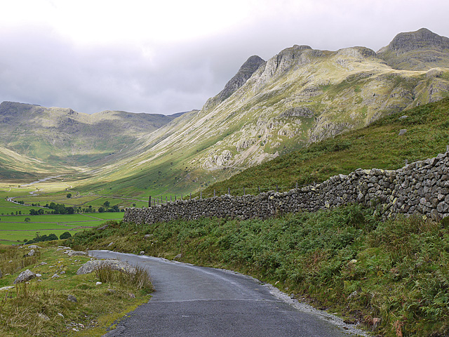 Langdale Pikes from the south