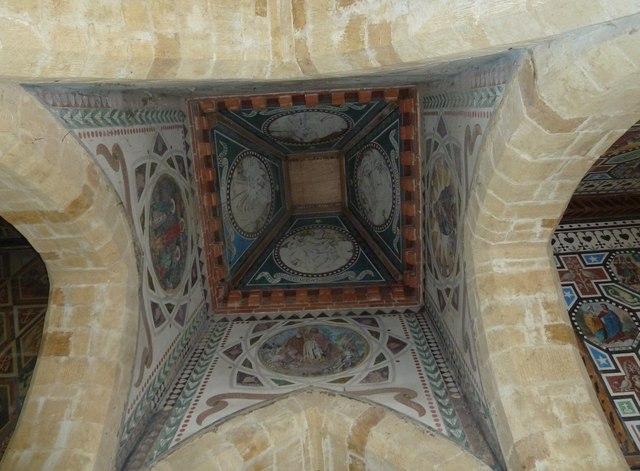 Inside the Roman Catholic Mortuary Chapel, Chideok (b)
