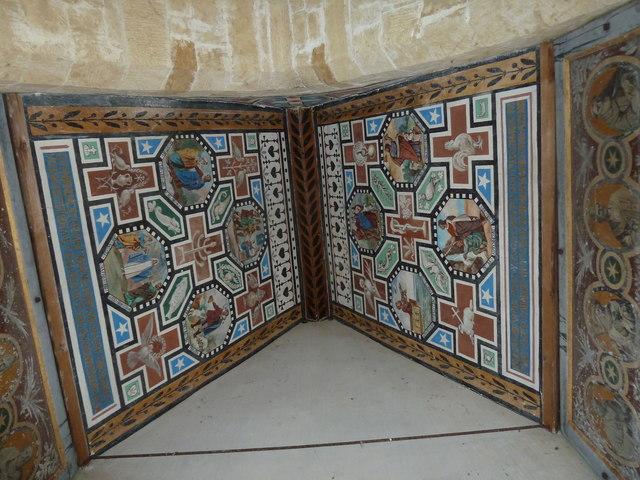 Inside the Roman Catholic Mortuary Chapel, Chideok (f)