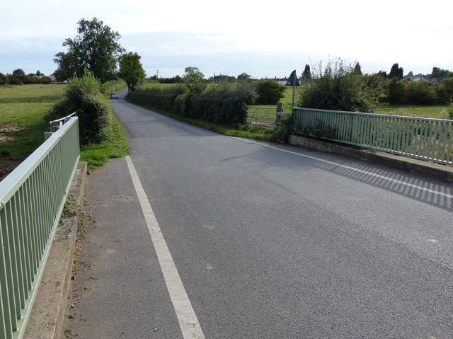 Bridge across Long Whatton Brook
