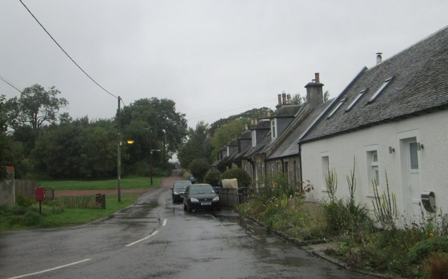 A row of cottages