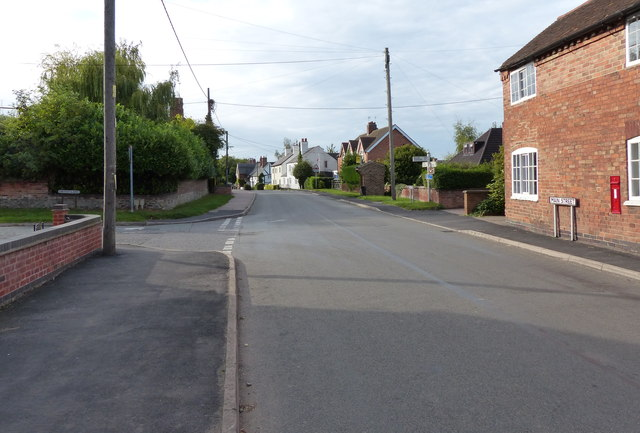 The Main Street in Long Whatton